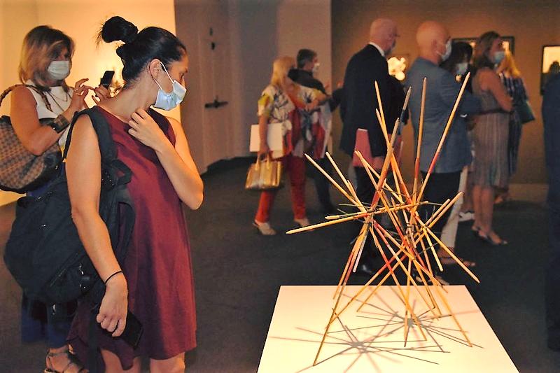 GestoZero opening Museo Santa Giulia ACME Art Lab